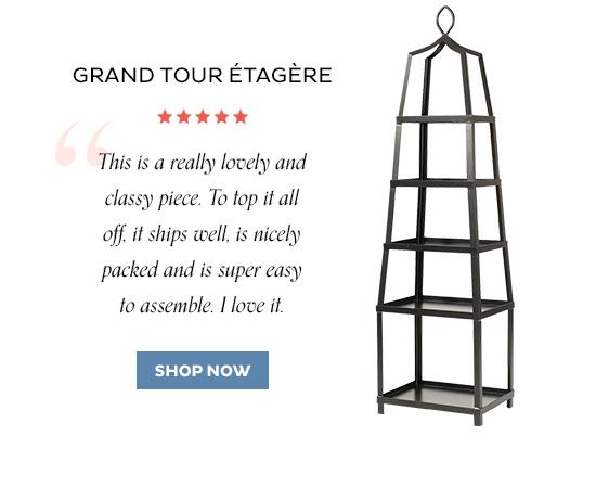 Grand Tour Etagere