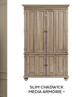Slim Chadwick Media Armoire