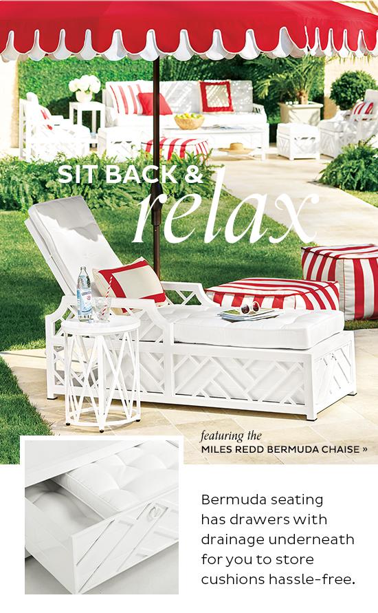 Miles Redd Bermuda Chaise