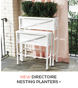 Directoire Nesting Planters