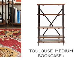 Toulouse Medium Bookcase