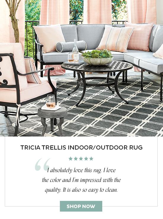Tricia Trellis Indoor/Outdoor Rug