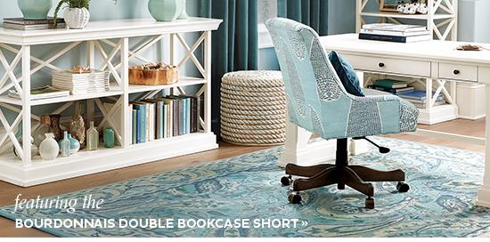 Bourdonnais Double Bookcase Short