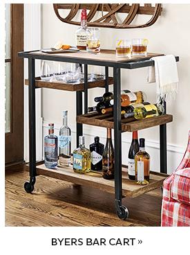 Byers Bar Cart