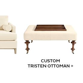 Custom Tristen Ottoman