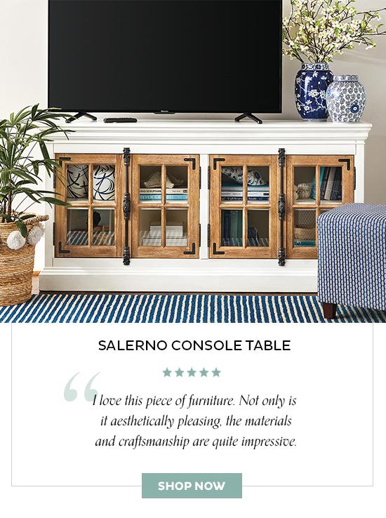 Salerno Console Table