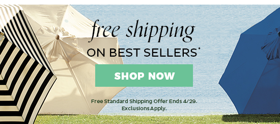 Free Standard Shipping on Best Sellers